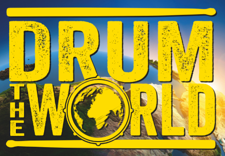 DRUM THE WORLD COLOURFUL LOGO_439px